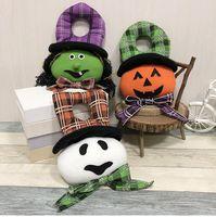 cadılar bayramı eşyaları toptan satış-Çocuk Halloween Dekor Cadılar Bayramı Doll Hayalet Cadı Kabak Bar Kabak Atmosfer Prop şeyler Oyuncak kapılar Kabak