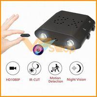 mikrokamera dvr bewegung großhandel-HD 1080P Kleine D X2 Mini Kamera XD Digitaler Smart Camcorder IR-Cut Nachtsicht Mini DVR Bewegungserkennung Micro Sport DV Camcorder