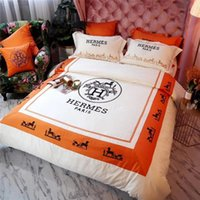 Wholesale princess bedding for sale - Group buy Princess White Embroidery Bedding Supplies Letter Boutique Horse Pattern Bedding Suit Europe And America Bedding Covers New
