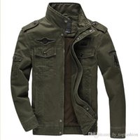 melhores jaquetas do exército venda por atacado-Melhor Jacket do exército alemão CLASSIC PARKA Combate do Exército combate Uniform hombre Brasão chaqueta dos homens revestimento dos homens
