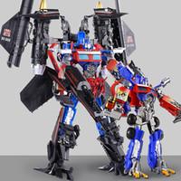 brinquedos legal meninos venda por atacado-Transformação 5 Brinquedos Filme Cool boy Figuras de Ação Robot Car TF jetfire Fit OP Commander Ko Brinquedos