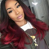 Wholesale 99j body wave hair for sale - Group buy Ombre Malaysian Hair Bundles Body Wave And Closure b j Body Wave Ombre Human Hair Bundles With Closure Pre Plucked With Baby Hair