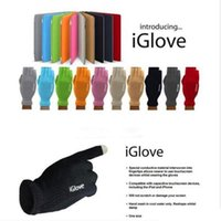 guantes de pantalla táctil igloves al por mayor-Guantes unisex iGlove inteligentes guantes capacitivos de pantalla táctil para iphone 5 5C 5S ipad smart phone guantes iGloves con paquete de venta al por menor TO148