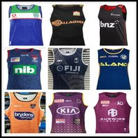 2020 Cowboys Wests Tigers Brisbane Broncos Maroons rugby Jerseys Singlet New South Wales Blues State Fiji knight Eels vest jersey