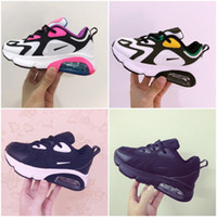 Wholesale running shoes for girls size for sale - Group buy 2019 Kids Athletic Shoes Children Basketball Shoes Wolf Grey Toddler Sport Sneakers for Boy Girl baby Toddler size