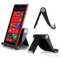 tischplatten-tischständer großhandel-Drei-Farben-Desktop-Universal-Klapp-Handy-Ständer Tablet PC Universal-Stent tragbarer fauler Stent