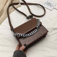 Wholesale branded sling handbags resale online - Ladies Hand Sling Crossbody Bags For Women Leather Luxury Handbags Famous Brand Designer Female Messenger Shoulder Bag Sac