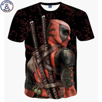 Wholesale animals lists for sale - Mr New Listing Bad Guy Deadpool d Printed Boy s T shirt Years Teenage Big Kids Children s Tshirt Na8 Q190523