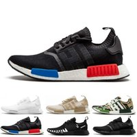 Wholesale xr1 nmd resale online - Qualitys NMD R1 Oreo Runner Japan Nbhd Primeknit OG Triple Black White Camo Running Shoes Men Women Nmds Runners Xr1 Sports Trainers
