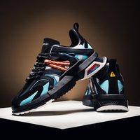 yeni kadın ayakkabıları çin toptan satış-Çin Boyutu 39-44 Made in Yeni Moda Erkek Tasarımcı Ayakkabı Siyah Beyaz Çok Renkler Kadınlar Erkek Deri Ayakkabı Spor Platformu Sneakers