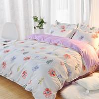 Wholesale princess style bedding resale online - Cotton Cotton Bedding Four Piece Bed Sheet Three Piece Children Princess Style Girl Heart Quilt