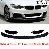 bmw lábio venda por atacado-Estilo Desempenho Hot Pára-choques frontal Lip se encaixa para 14-19 BMW 4-Series F36 F32 F33