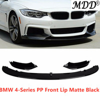 Wholesale bmw lip for sale - Group buy Hot Performance Style Front Bumper Lip Fits For BMW Series F32 F33 F36