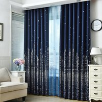Curtain Blinds Bedroom Living Room Insulation Home Decor Heavy Thick Window  Treatment Castle Blackout Modern Silver Stamping