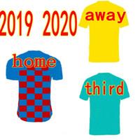 kundenspezifische fußball jersey kinder großhandel-2019 2020 fc barcelona Kinder camisetas de futbol barca Trikots zu Hause weg dritter Fußball Tops kurze Fußball-Uniformen individuellen Namen und Nummer