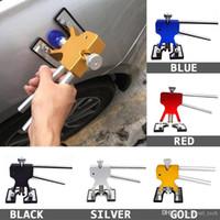 car dellen großhandel-Dellenentfernung Dent Puller + 18 Dent Lifter-Führungen Handwerkzeug-Set Tool Kit-Werkzeuge Autokörper-Reparaturwerkzeuge Ohne Lack