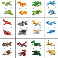 Wholesale building block mix for sale - Group buy New Dinosaur Building Blocks Toys Mixed With Various Shapes Small Particles Puzzle Spelling Assembling Children s Intelligence Toy