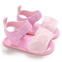 bebek kız bebek sevimli sandaletler toptan satış-Sevimli Yeni Bebek Yaz Erkek Kız Moda Sandalet Bebek Ayakkabı 0-18 Ay Bebek Nedensel Sandalet