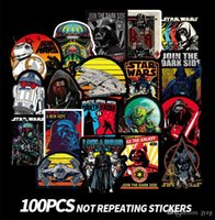 Wholesale gift sets decals online - star Movie Stickers star toys pasters fans decals scrapbooking diy stickers decorations phone waterproof cartoon accessories gifts