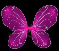 princesa de hadas mariposa al por mayor-Niños niña princesa Fairy Butterfly Wings disfraz de Halloween disfraz GB450