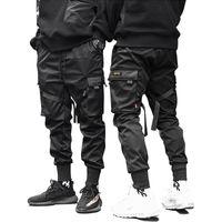 Wholesale hot hip dance for sale - Group buy Hot sale Male Dancing Pant Harem Pant Men Streetwear Punk Hip Hop Casual Trousers Joggers Men Multi pocket Elastic Waist Design
