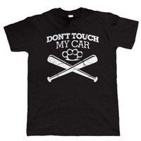classiques de voitures américaines achat en gros de-Ne touchez pas ma voiture T-shirt drôle, Voiture américaine JDM Hot Rod American Muscle Classic