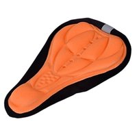 Wholesale cycling gel seat cover for sale - Group buy Bicycle Saddle D Soft Bike Seat Cover Gel Silicone Seat Cushion Cycling Saddle for Bicycle Bike Accessories Random Color