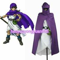 ejderha kostümü yapmak toptan satış-Dragon Quest V: Göksel Gelinin el cosplay kostüm custom made