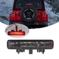 ingrosso la terza luce del freno ha portato-LED Car terza luci dei freni Fanale posteriore 3a luce del carico dei freni per Jeep Wrangler JL 2018 2019 Car Styling Spia del tetto posteriore
