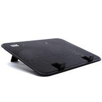 suporte do refrigerador venda por atacado-14 polegada Notebook Cooler 5 v USB Externo Laptop Cooling Pad Fino Suporte de Alta Velocidade Silencioso Fan Metal Panel