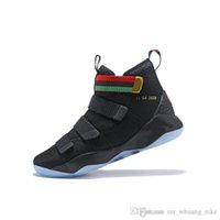 a294bc240c62ff Cheap mens lebron soldier 11 basketball shoes for sale Team Red Blue high  tops youth kids lebrons soldiers xi sneakers tennis with box