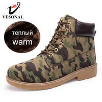 Wholesale plush adult shoes resale online - Brand Unisex Ankle Boots Sneakers Men Casual Shoes Waterproof Snow Boots For Male Adult Winter Warm Short Plush Footwear