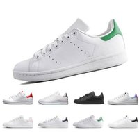 Wholesale stan smith women shoes resale online - 2020 New Raf Simons Stan Smith Spring Copper White Pink Black Fashion Shoe Man Casual Leather brand woman man shoes Flats Sneakers