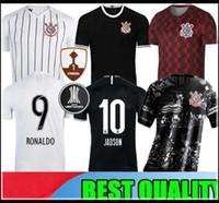 üst kulüp forması toptan satış-19 20 JO JADSON forması futbol Corinthian 2019 2020 RODRIGUINHO Corinthianss M. GABRIEL KAZIM TOP KALİTE Brezilya kulübü Futbol Gömlek