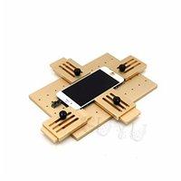 oca universal venda por atacado-Molde fixo ajustável do LCD OCA do molde do telefone universal da liga de alumínio com a braçadeira do suporte para o reparo do telefone