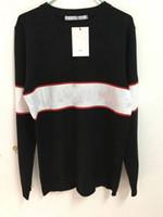 camisolas de luxo para mulheres venda por atacado-Atacado coreano Edição Médio Mulheres Impressão Carta Camisolas Luxo Jumper Hot Venda Moda de Nova solto camisola Designer