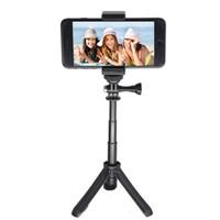 ingrosso treppiede galassia-Mini Pole selfie Stick Tripod Monopod tenuto in mano per GeekPro / HD Hero 7 6 5 4 3 + 3 2 1,, Samsung Galaxy, A