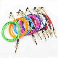 usb-lautsprecher-buchsen großhandel-3,5 mm Stecker auf Stecker Audio-Kabelbuchse 3 5 Aux-Kabel für iPhone Samsung Auto-Kopfhörer Handy-Lautsprecher Aux-Kabel Draht