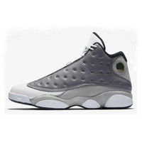 hot sale online c70f6 d1898 2019 Bred Chicago Flint Atmosphere Grey 13 Men Basketball Shoes 13s He Got  Game retros retro Melo DMP Hyper Royal Sports Sneakers Size 7-13