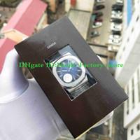 luminova watches بالجملة-Super PFF version Automatic Cal.324 S C Movement 40mm Stainless Steel Elegant Series 5711 / 1A 010 Blue Dial Watch Men Super-LumiNova Luminous