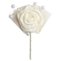 flor de la cinta coreana al por mayor-Nuevo producto boda novio boutonniere novia dama de honor hermana grupo flor coreano creativo simple cinta flor salvaje broche personalizado X994-J