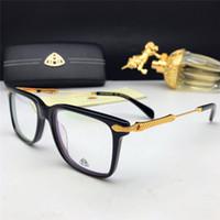 Wholesale car hinging resale online - New fashion designer car brand maybach optical glasses z108 square frame transparent lens can be prescription eyewear