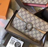 Wholesale high fashion crochet bags for sale - Group buy Fashion Women Shoulder Bag Chain Messenger Bag High Quality Handbags Wallet Purse Designer Cosmetic Bags Crossbody Bags Totes Q