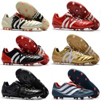 Wholesale ace boots for sale - Group buy Best Quality Predator Mania ACE Purecontrol Champagne FG Soccer Boots Football Boots White Core Mens Cleats Shoes Size