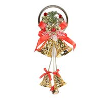 Wholesale trade jewelry resale online - Cross border supply of exquisite Christmas wind bracelet pendant Bell bow jewelry accessories Foreign trade spot
