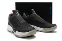 zapatillas kevin durant al por mayor-Zapatillas atléticas para hombre 2019 Kevin Durant 12 Negro Gris Rojo Zapatillas de running para hombre ADAPT EARLBB KD 12s Zapatillas de baloncesto para hombre Zapatos de diseño
