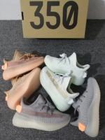 ingrosso grandi scarpe da corsa-Static Clay Infant Kids Scarpette da corsa True Form Hyper space Kanye West istruttore bambino grande ragazzino ragazza Sneakers bambino Toddler