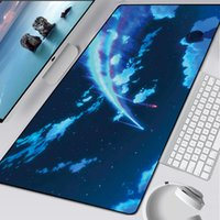 xl pad  venda por atacado-Computador Escritório 900x400mm Big Keyboard Mats Anime Mouse Pad XL Grande Computer mousepad legal Gaming desenhos animados XXL Pad para rato