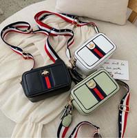 stilvolle taschen für mädchen groihandel-Stilvolle Mädchen Squash schulte quadratische Tasche mit weichem PU-Reißverschluss Geldbörse, 3 Farben
