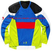 Wholesale best selling jersey resale online - Best selling explosions downhill Jersey racing suit long sleeved locomotive clothing manufacturers custom details consulting customer servic